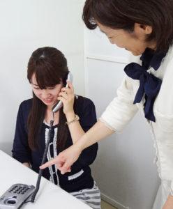 電話審査のフォローアップ研修の様子